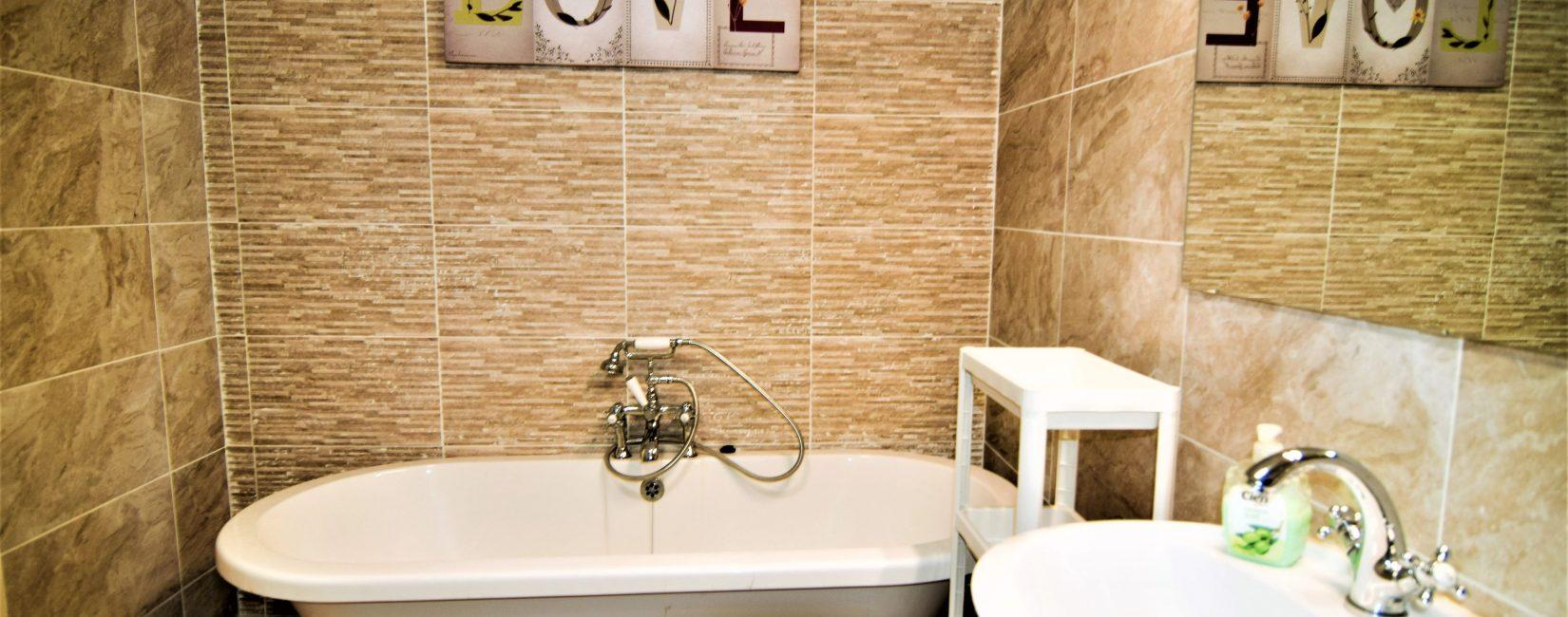 Bathtub + Separate Shower