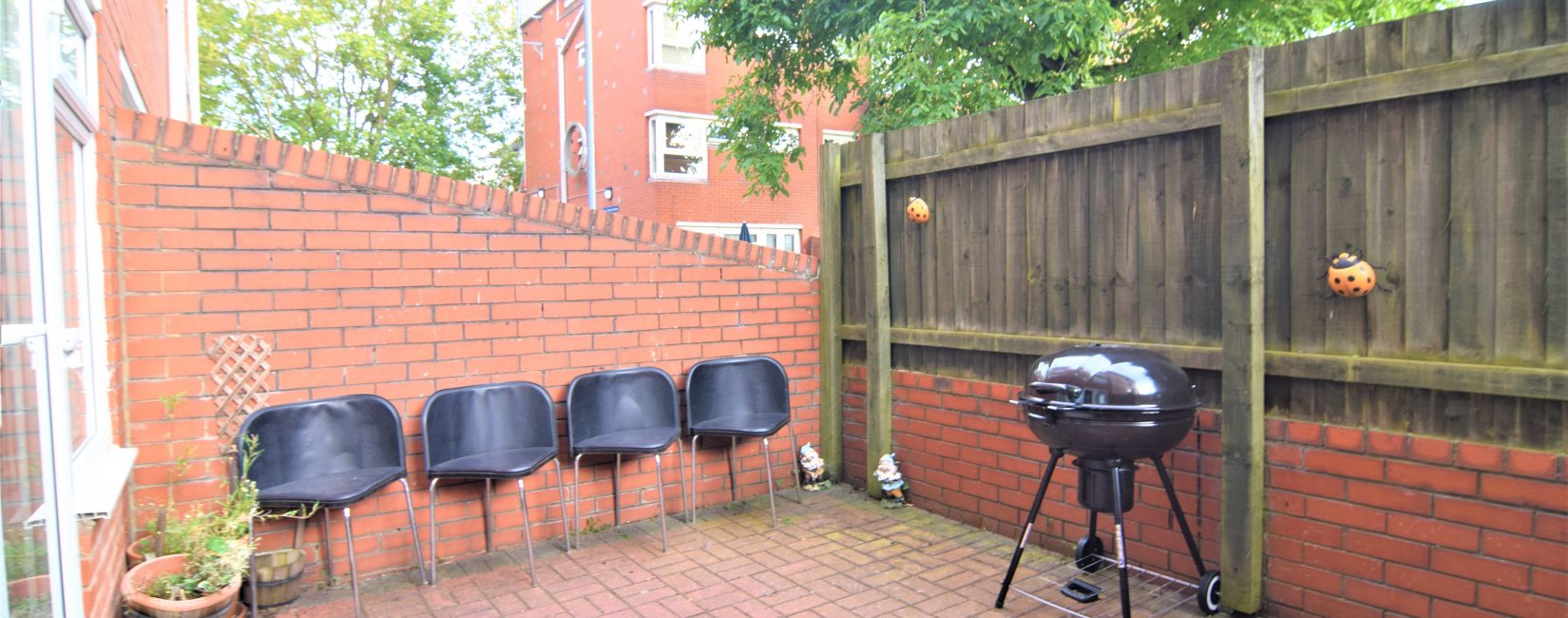 Terrace for BBQs etc